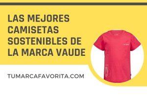 Las mejores camisetas sostenibles de la marca Vaude