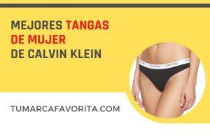 Mejores Tangas de mujer de Calvin Klein